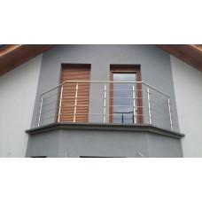 Balustrada ze stali nierdzewnej samodzielny montaż