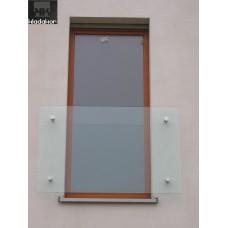Balkon francuski szklany do samodzielnego montażu