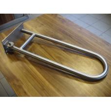 Poręcz INOX dla niepełnosprawnych 70 cm uchylna