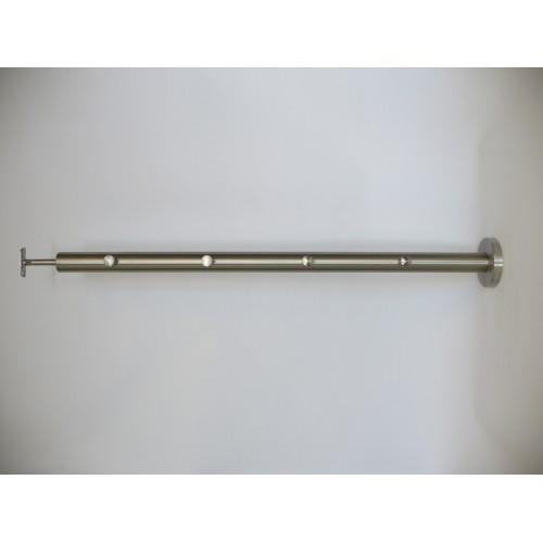 Słupek nierdzewny INOX system przelotowy 4x fi 12mm H-980 mm